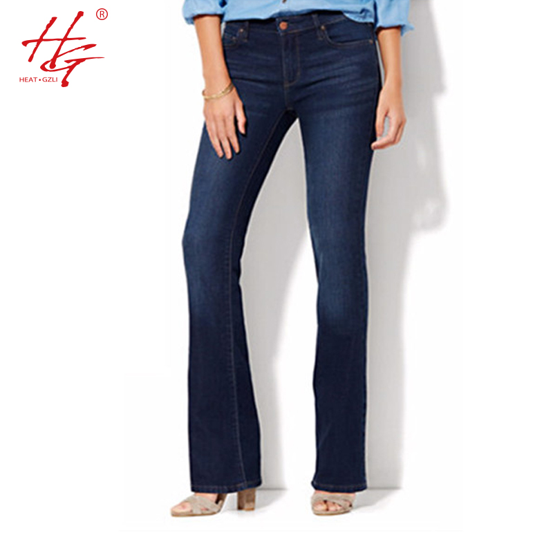 Compare Prices on Plus Size Flare Leg Jeans- Online Shopping/Buy