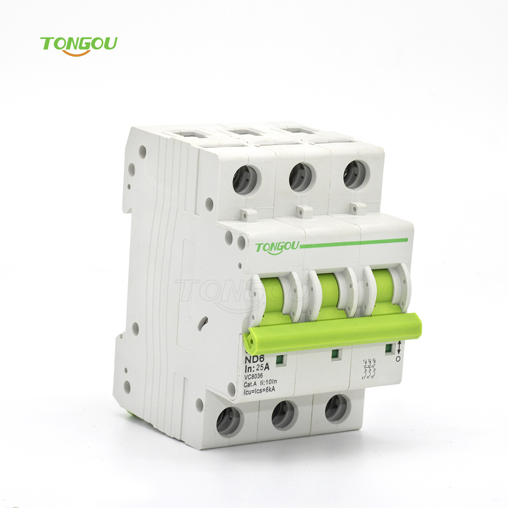 25A MCB 3 pole AC 220V 400V Curve C 6KA Circuit Breaker 3 Phase with 5 Years Warranty модуль apc pd3p400at5b for t5 type circuit breaker 3 pole