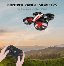 Stunning Lights Mini RC Drone with 3 Batteries and Headless Mode