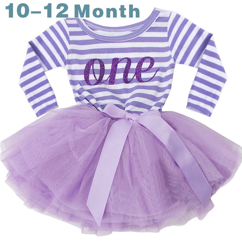 1-3T Baby Girl Clothing Little Girl 1st Birthday Outfits Baby Shirt Tutu dress for Infant Girls Party Costume Kids Clothing new baby girls clothes infant 1 year 1st birthday outfits fancy unicorn party dress baby kid girl hairband rompers tutu dress