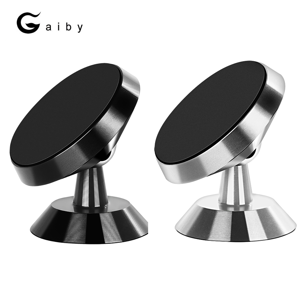 Gaiby Car Magnetic Dashboard Phone Holder Stand Air Vent Grip Bracket for iPhone