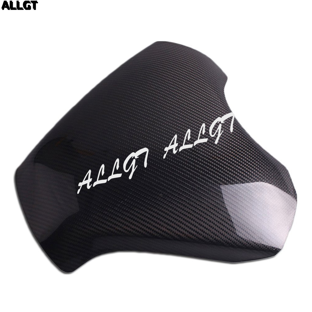 ALLGT New Carbon Fiber Fuel Gas Tank Cover Protector For Honda CBR1000RR 2012 2013 2014 2015 arashi motorcycle radiator grille protective cover grill guard protector for 2008 2009 2010 2011 honda cbr1000rr cbr 1000 rr