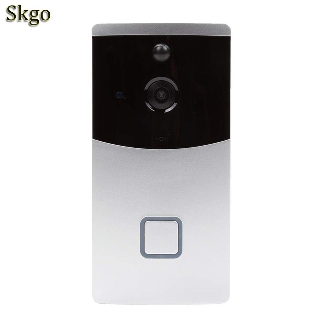 Low Power Intelligent Wifi Voice Intercom 8-32GB Storage Card 720P Doorbell 2.4GHz Home Monitoring DoorbellLow Power Intelligent Wifi Voice Intercom 8-32GB Storage Card 720P Doorbell 2.4GHz Home Monitoring Doorbell