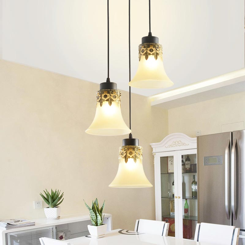 Nordic Vintage Rope Pendant Light Dining Room Kitchen Loft Hanging Lamp Glass Lampshade Country Decor Home Lighting Fixtures E27 american edison loft style rope retro pendant light fixtures for dining room iron hanging lamp vintage industrial lighting