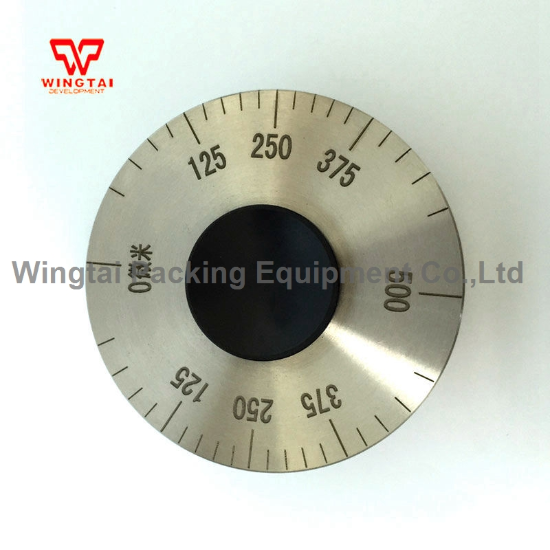 0~500 Micron Measuring Range Stainless Steel Wet Film Rolling Thickness Gauge