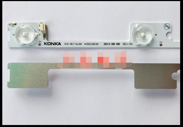 New Led Backlight Bar Strip For Konka Kdl48jt618a 35018539 6 Leds 442mmnew Rich In Poetic And Pictorial Splendor 6v