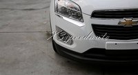 Free Shipping Car Stickers Chromed Front Fog Light Cover Trim For Chevrolet TRAX 2014+