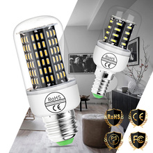 Ampoule Led E27 Light Emitting Diode Lamp E14 220V Lamparas Corn Bulb Home Decorative Bedroom Lighting 4014smd