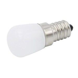 Image 3 - Светодиодная лампа E14 COB, стеклянная лампа 2835 SMD для холодильника, холодильника, морозильной камеры, швейной машины, домашнее освещение