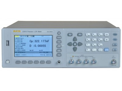 Fast Arrival  U2819 Precision LCR Meter With 20Hz -200kHz, Resolution:1mHz Frequency ,Basic Accuracy:0.05%,