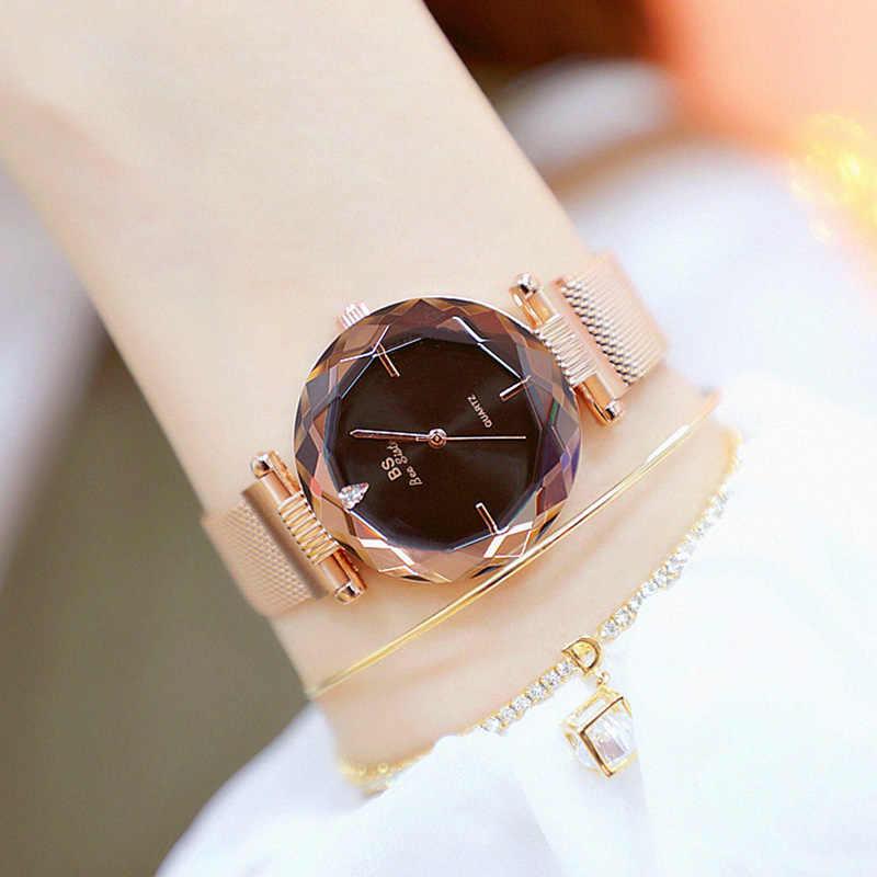 2018 nouveauté femmes montres en acier inoxydable célèbre Top marque montres à Quartz dames montre-bracelet Relogios Femininos