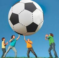75 cm/130 cm Gigantic Nadmuchiwane Piłki Nożnej Siatkówka Chłopcy Dzieci Na Zewnątrz Plaża Zabawki Dorosłych Garden Party Dostaw Dzieci Giant piłka nożna