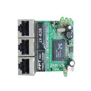 Image 4 - OEM hersteller unternehmen direkter verkauf der Realtek chip RTL8306E mini 10/100 mbps rj45 lan hub 3 port ethernet switch pcb board
