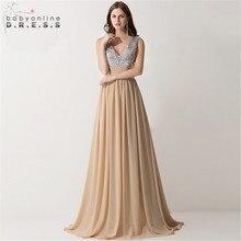 Vestido madrinha sensual decote em v, vestido de dama de honra, casamento, reflexivo