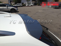 FRP Fiber Glass Avent RS4 Design Style Roof Spoiler Fit For 2009 2013 Audi A4 B8