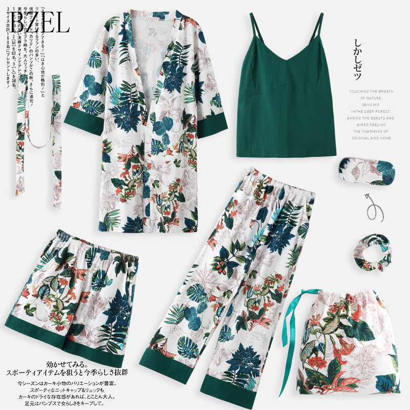 BZEL Brand New Women s 3 Pieces Pajamas Sets Spaghetti Strap Tops And Long Pants And