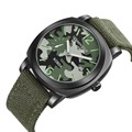 Mens Watches Top brand Luxury Brand Men Sports Watches Quartz Military Canvas Strap Camouflage Wrist Watch relogio masculino
