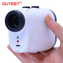 OUTEST Telescope Laser Rangefinder 400m Distance Meter 7XMonocular Golf hunting Range Finder Tape Measure Roulette