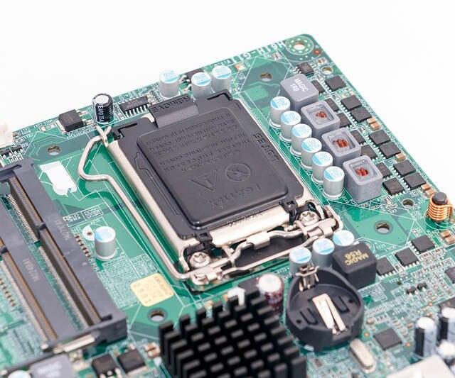 For ECS H61H G11 Desktop Motherboard H61 LGA 1155 DDR3 SATA2 Mini