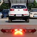 Refletor, LED Rear Bumper Luz, luz de nevoeiro traseira, Luz de freio Para KIA Sportage 2010-13 luz da cauda refletor um par