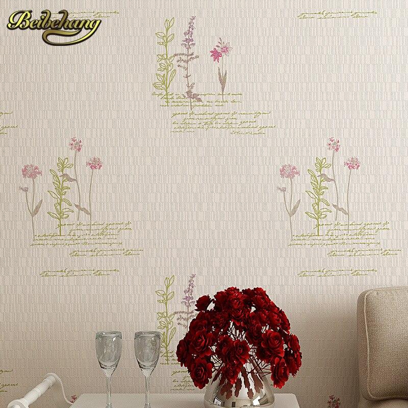 Beibehang maison mur chaud terrain 3D moderne mode moderne romantique chambre salon TV fond papier peint peintures murales