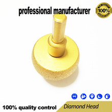 vacuum brazed diamond polishing head gringding for marble granite brick glassess and tiles fast delivery