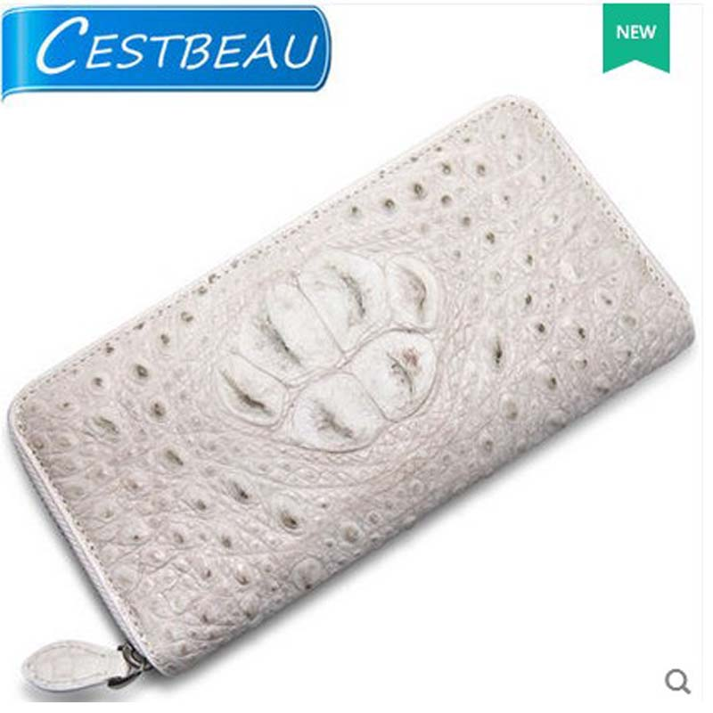 cestbeau Himalayan Thailand crocodile women wallet lady real crocodile leather long women bag  new yuanyu new crocodile wallet alligatorreal leather women bag real crocodile leather women purse women clutches