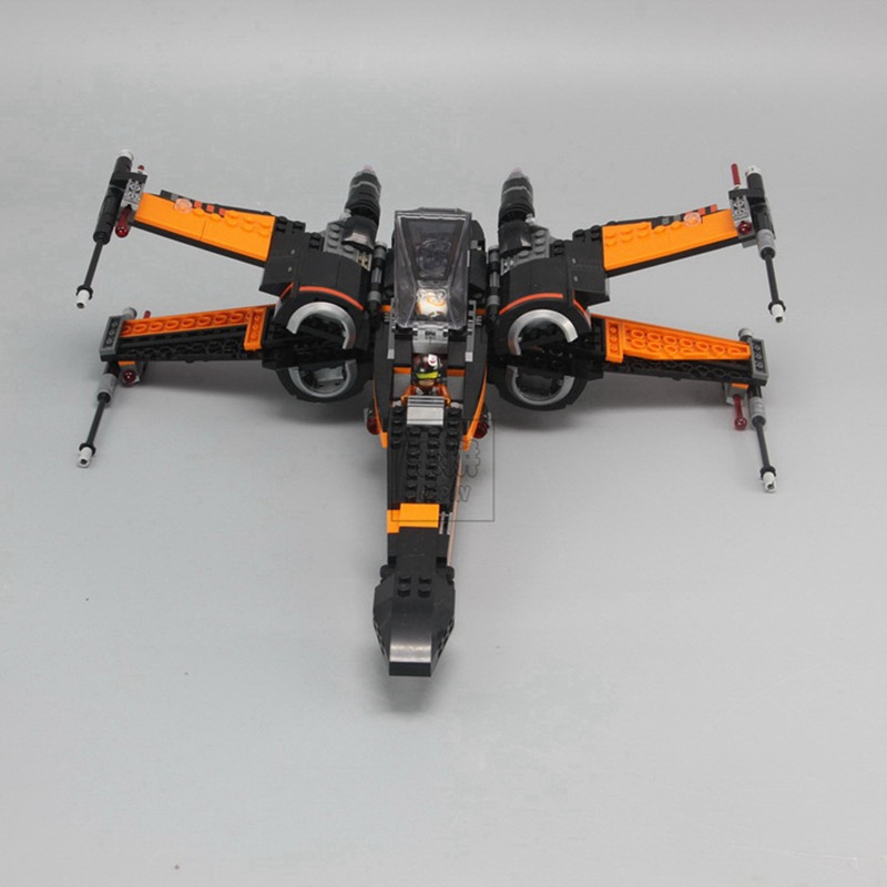 Rapture Lepin Abs 05004 Star Wars 10466 Force Awakening X-wing Fighters To Assemble Fun Childrens Educational Building Blocks Toys Toys & Hobbies Interconnecting Blocks
