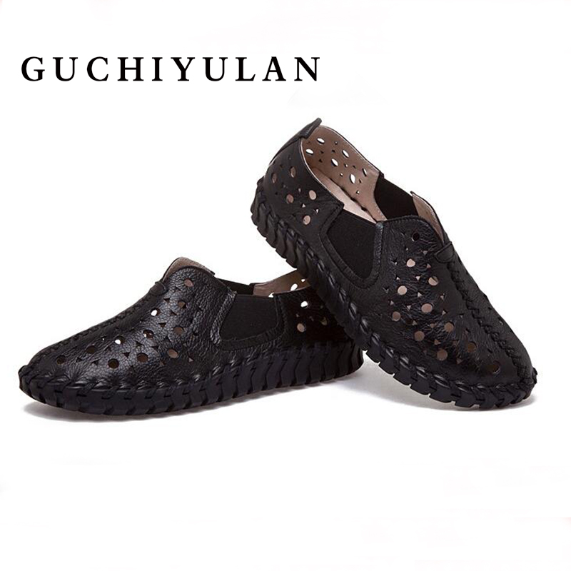 Spring summer genuine leather shoes women Flat hollow female genuine leather espadrilles flats Female casual oxford shoes women summer leopard men shoes casual leather espadrilles flat loafers 2017 fashion spring vintage wedding oxford shoes
