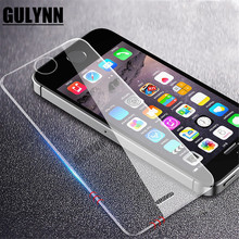 Tempered Glass On The For Apple iPhone 5S 5 SE Screen Protector 9H 2.5D Anti-Burst Protective Film Glass For iPhone 4 4S Cover professional 9h 2 5d privacy anti spy premium tempered glass protector film for iphone 4 4s