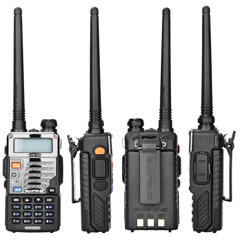 2pcs lot Baofeng UV 5RE Walkie Talkie UV 5R Upgraded Version UHF VHF Dual CB Radio