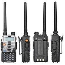 2 sztuk/partia walkie talkie uv-5r baofeng uv-5re ulepszona wersja vhf uhf dual cb radio vox fm radio transceiver dla polowania