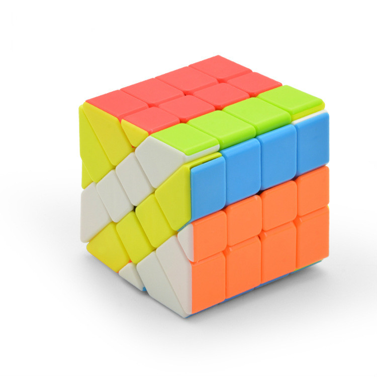 Lefun Stickerless Cube Fisher Magic 4x4 Cubo Magico Learning Educational Toys for Children