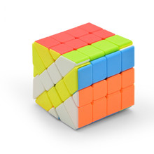 Lefun прозрачный пазл Фишер магический куб без наклеек 4×4 Magic Cube Cubo Magico обучения Развивающие игрушки для детей