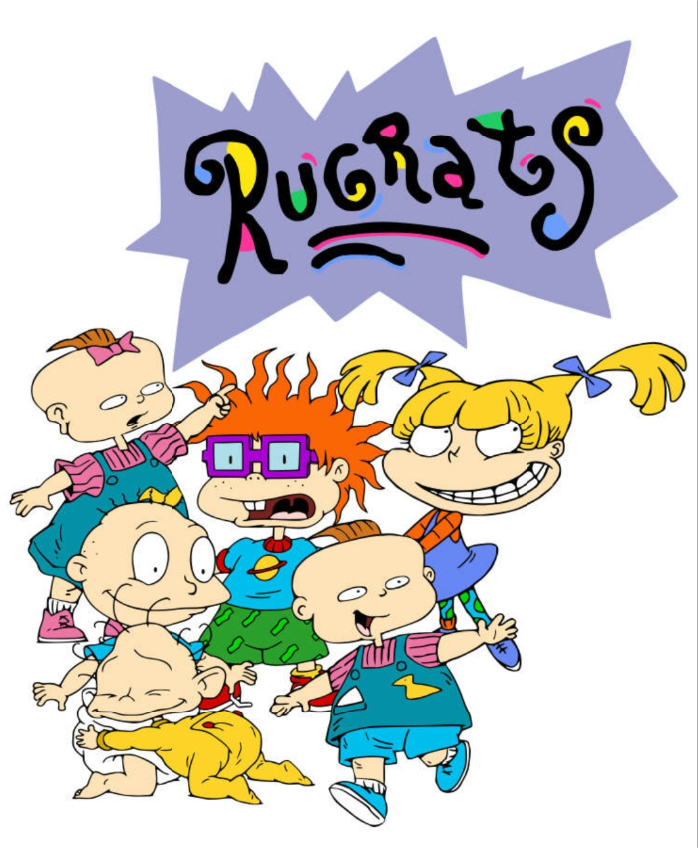 5x7ft Rugrats In Paris Custom Photo Studio Background