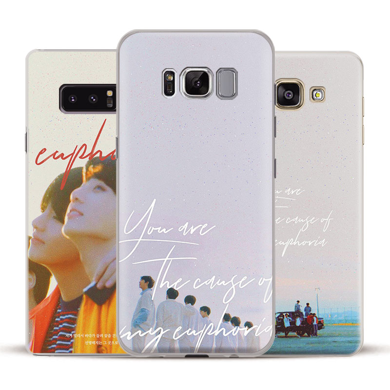 promo code 581f9 d41ed BTS Love Yourself Her Phone Case Cover Shell For Samsung Galaxy S5 S6 S7  Edge S8 S9 Plus Note 8 3 4 5 A5 A7 J5 J7 2017