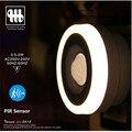 0.5 W/2 W 200-240Vac LED PIR y sensor de luz Socket lámpara de la noche, rayo infrarrojo humano detectar luz 4000 K blanco neutro