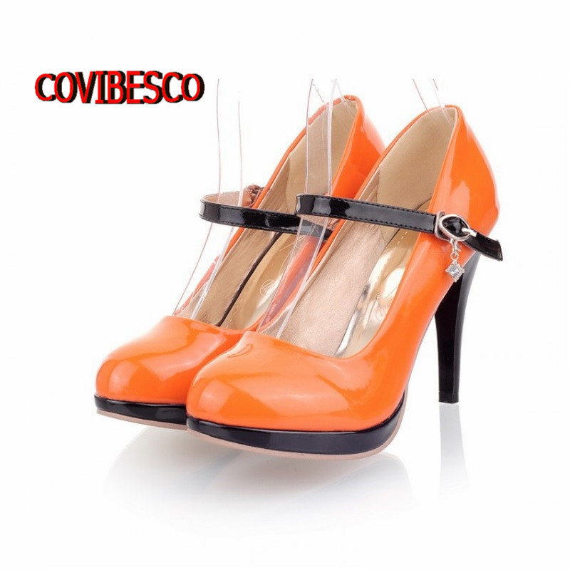 Online Buy Wholesale orange shoes platform heels from China orange ...