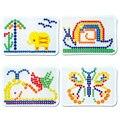 Гриб зерна Ногтей Бисер Интеллектуальные 3D Пазлы для Детей Пластиковые Детские Развивающие Игрушки