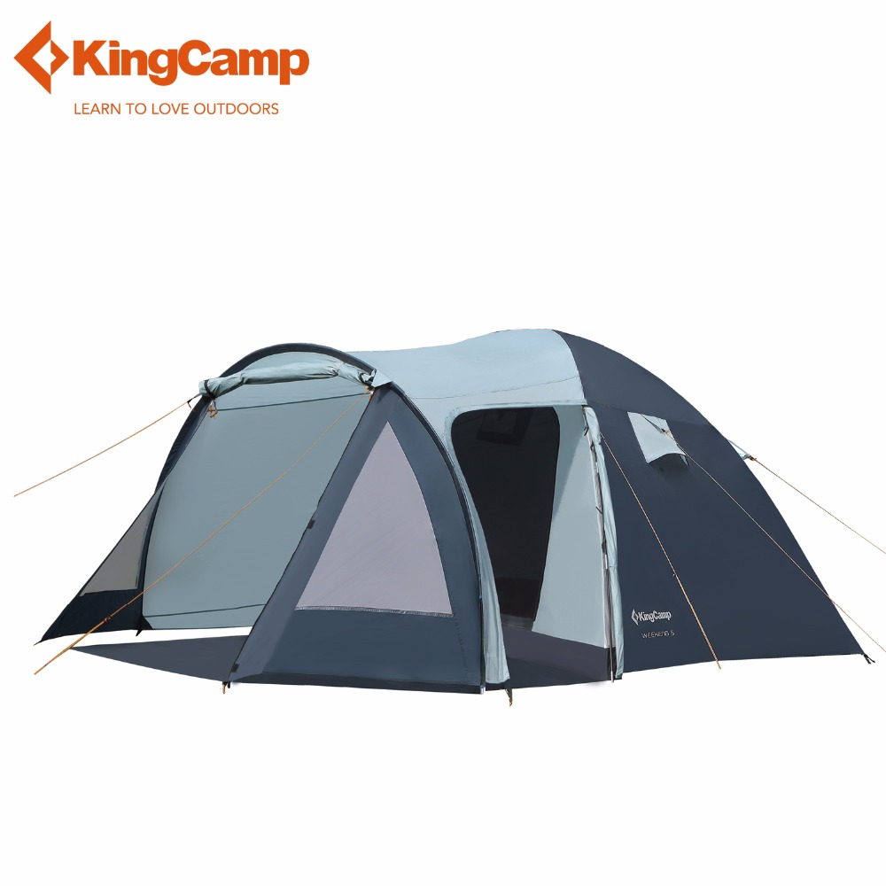 KingCamp Outdoor Tent Weekend Fire resistant 5 Person All ...