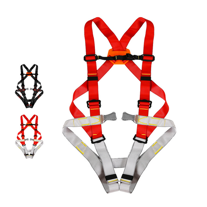 P58 Outdoor Aerial Installation/ Fire Rescue /Climbing Downhill/Tunnel Protection/Full Body Safety Belt CE certification stop locking device climbing outdoor rock climbing expand sports fire rescue downhill safety hand control drop device