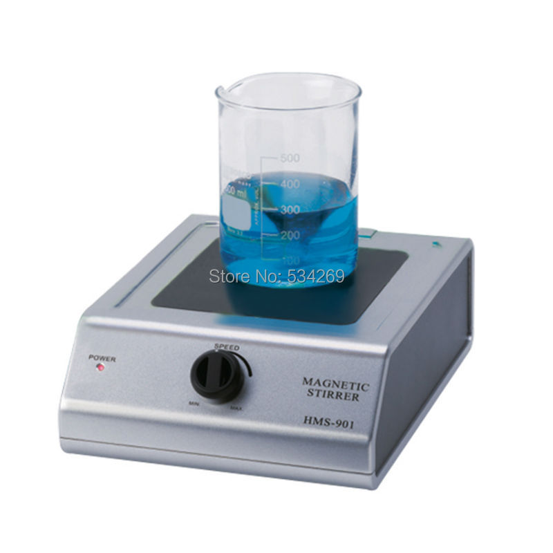BDJK laboratory equipment HMS-901 magnetic stirrer with heating stir bar hot plate chemistry laboratory agitador magnetic Mixer free shipping ptfe stir rod for overhead stirrer