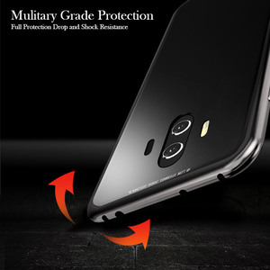 Image 4 - 360 Magnetic Glass Flip Case For Huawei Mate 20 Pro P30 P20 Lite Nova 5t 3i 4 V20 P Smart Z Honor 8X 9X Y9 Prime 2019 Case Cover