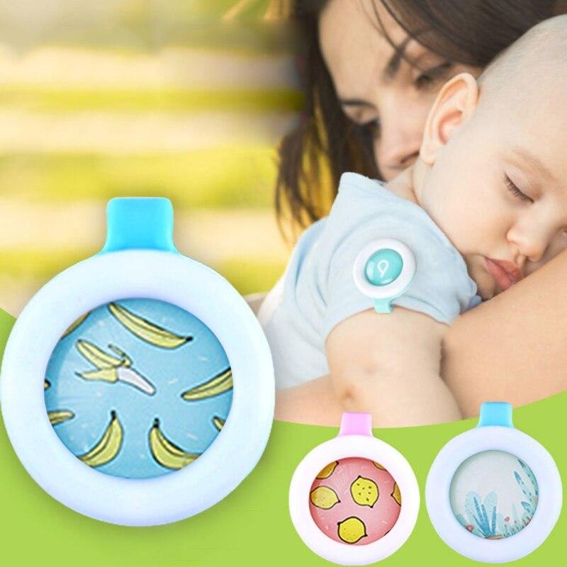 Противомоскитная Пряжка летняя для беременных взрослых защита мультяшная пуговица репеллент Защита ребенка Противомоскитный браслет