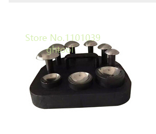 High Quality Jewelry Making Tools Doming Block Dapping Punch Set 6pcs jewelery tools free shipping doming punch