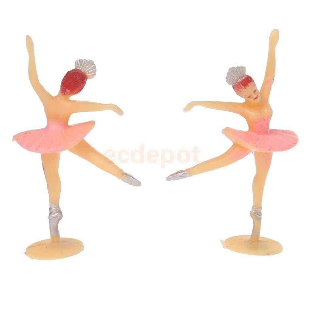 MagiDeal 12 pcs Pequena Bailarina Mini Bailarina Ballet Menina Presente Tabela Do Partido Batismo Favores Do Chuveiro Do Bebê Decoração Artesanato
