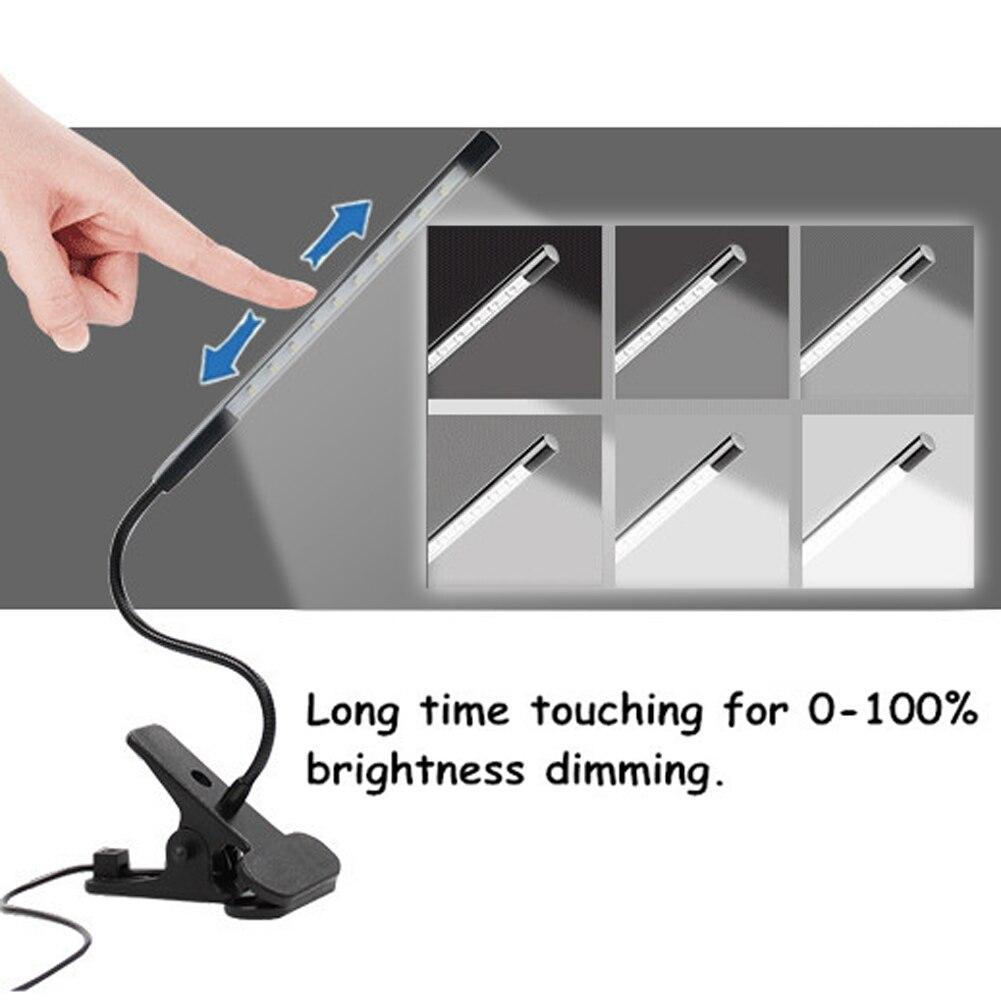 Beruhren Helligkeit Einstellbar Schreibtisch Lampe Flexible Usb Led