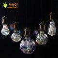 Luz conduzida da lâmpada e27 lâmpada led 3D decoração lâmpada 90-260 V férias luzes g80 st64 g95 lâmpada novidade natal decoração para casa lampada