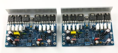 цена на LJM Assembled L25 power amplifier board 250w 8R with Angle aluminum 2 channels