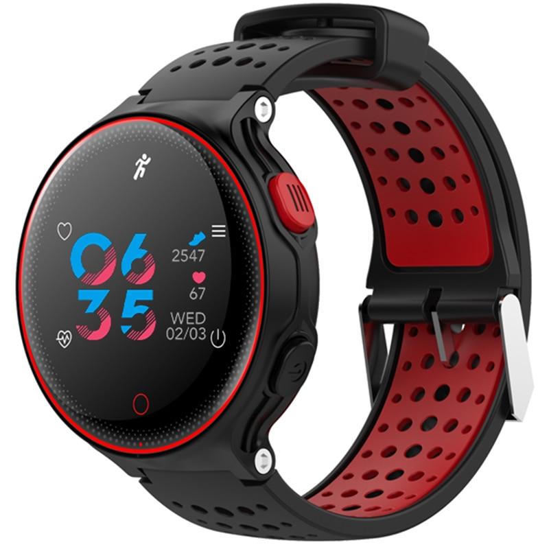 XR02 արյան ճնշում թթվածնի սրտի գնահատման մոնիտոր Սմարթ ձեռնաշղթա Անջրանցիկ Bluetooth ժամացույց համար IOS Android սմարթֆոնների համար Pk Garmin